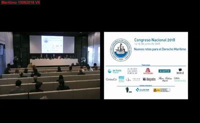 Intervención Congreso Nacional de Derecho Marítimo